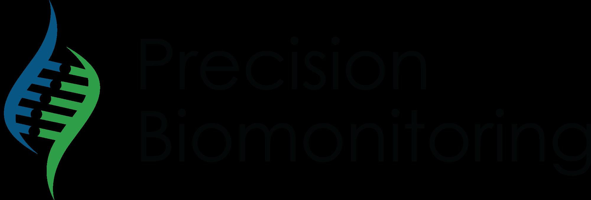 precision biomonitoring logo